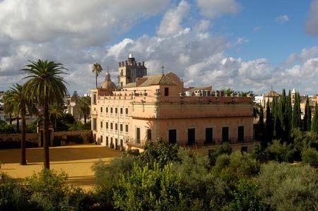 jerez de la frontera: Alcazar of Jerez de la Frontera, Andalucia, spain