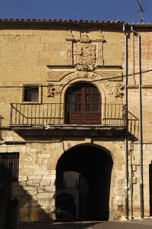 mediaeval: mediaeval door in Toro, Zamora province, Spain