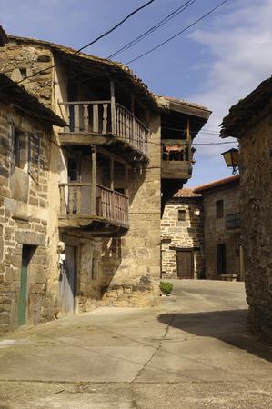 zamora: Conjunto historico Artistico de Villardecierbos, sierra de la Culebra, Zamora,Spain