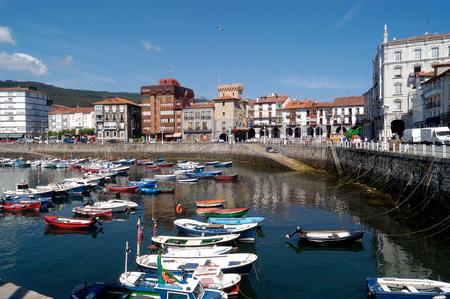 cantabria: Harbor of Castro Urdiales, Cantabria,Spain
