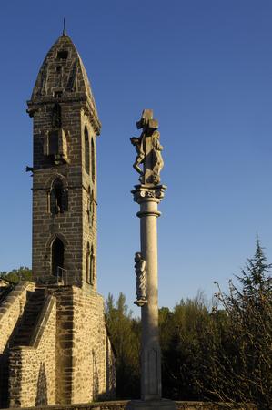zamora: Nuestra Señora de la Asuncion, National Monument, Mombuey, Zamora province, Spain