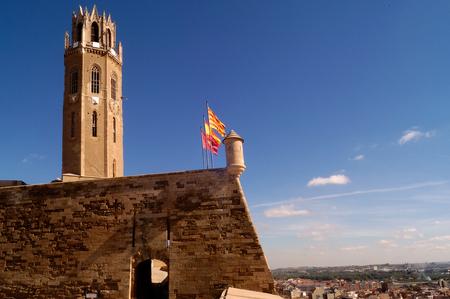southern european descent: La Seu,Cathedral of LLeida.Catalonia.Spain
