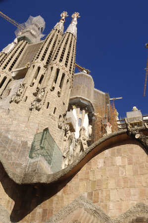 barcelona spain: Sagrada Familia, Barcelona Spain
