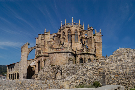castro: Cathedral Castro Urdiales, Cantabria, Spain