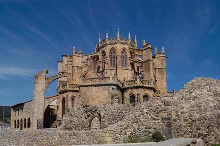 cantabria: Cathedral Castro Urdiales, Cantabria, Spain