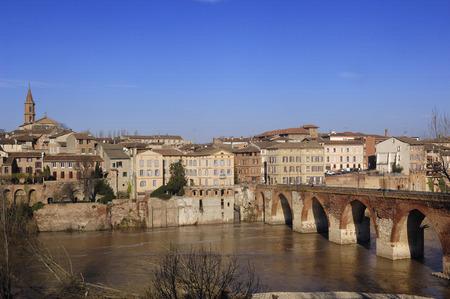 tarn: Albi, bridge over the Tarn river