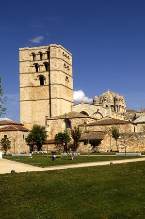 romanesque: Cathedral Zamora Castilla y Leon, Spain, romanesque