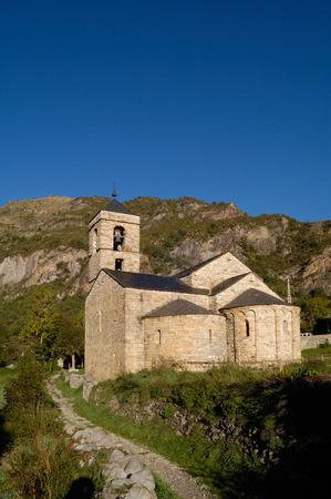 romanesque: Romanesque church of Sant Feliu Barruera, Catalonia,Spain Editorial