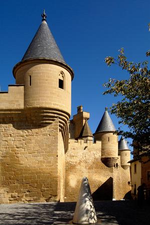 navarra: medieval Castle-Palce, Olite, Navarra, Spain