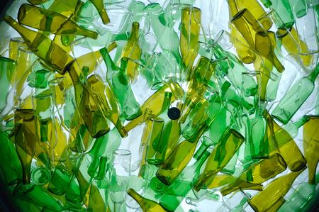 Botella Reciclaje, Foto de archivo - 46298778