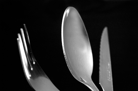 fork spoon: Knife, Fork, Spoon, Stock Photo