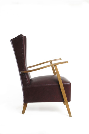 retro styled imagery: armchair vintage