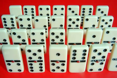 man made object: Domino Stock Photo