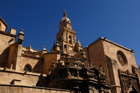 Cathedral, Santa Maria, Murcia, Spain Standard-Bild