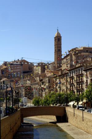 zaragoza: view of Tarazana, Zaragoza, Aragon,Spain