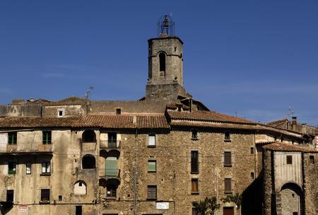 alt: Sant Marti Church, Maçanet de Cabrenys, Alt Emporda, Girana, Spain