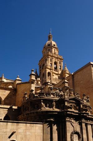 santa maria: Cathedral, Santa Maria, Murcia, Spain Stock Photo