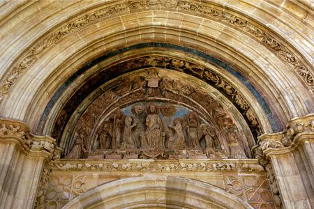 zaragoza: Santa Maria de los Sagrados, Puerta del Perdon, Daroca, Zaragoza Province, Aragon, Spain