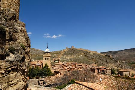 prov�ncia: View of Albarracin in Teruel province, Aragon,Spain