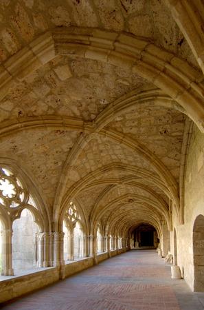 navarra: Santa Maria de Iranzu, Cloister, Navarra, Spain
