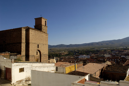 rioja: Santa Eulalia Church, Arnedo , La Rioja, Spain Stock Photo