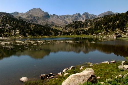 andorra: Pessons, Lake, Andorra