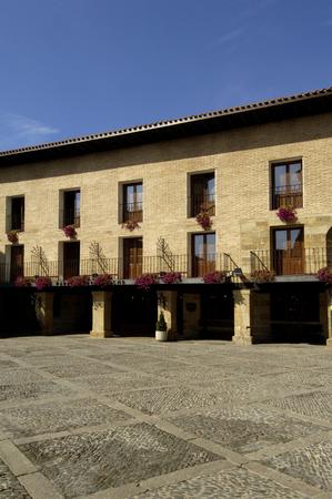 domingo: Hospital of pilgrims, Parador Hotel (Santiagos road ) Santo Domingo de la Calzada, La Rioja Stock Photo