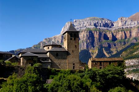 perdido: Torla and Ordesa and Monte Perdido, National Park,Huesca, Aragon, Spain