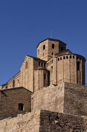 collegiate: collegiate of  Sant Vicenç, Cardona, Bages, Barcelona Province, Spain