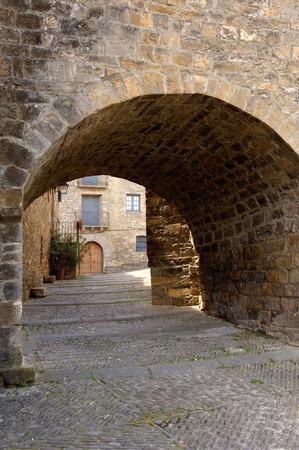 aragon: Ainsa, Huesca, Pyrenees, Aragon, spain