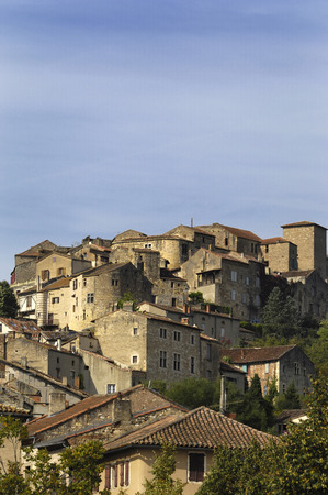 tarn: medieval village of Cordes Sur Ciel, Tarn, France