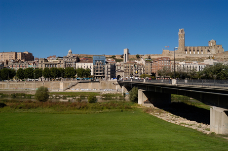 general: General View of Lleida, Catalonia, Spain