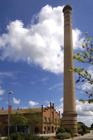 industrial heritage: Industrial heritage in Celra, Girona, Spain