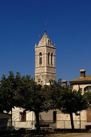 alt: Church of Santa Maria, Vilanant, Alt Emporda, Girona province, Spain