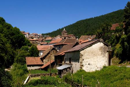 pyrenees: Ustarroz, (Ustarroze), Navarra, Pyrenees, Spain