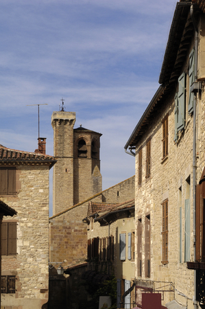 tarn: village of Cordes Sur Ciel, Tarn, France