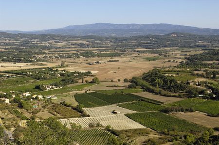 gordes: view provence from Gordes, Provence,France