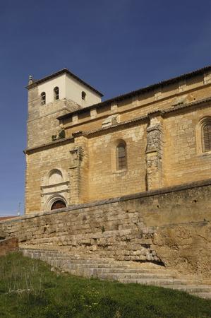 romanesque: Santa Maria del Castillo, Church, Fromista, Palencia, Spain, Romanesque churc