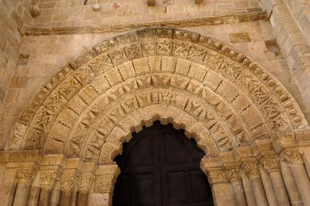 zamora: door of  Cathedral, Zamora, Castilla y Leon, Spain Editorial
