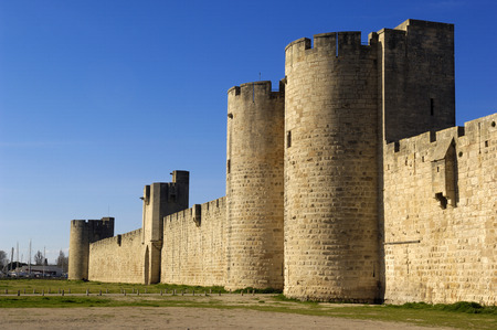 camargue: Fort of Aigues-Mortes, Camargue, France
