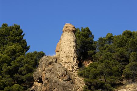 zaragoza: Ruins of Walls in Daroca , Zaragoza province, Spain Stock Photo