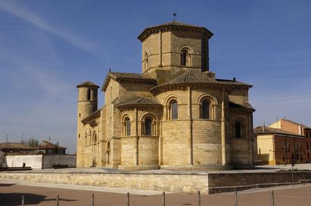 San Martin de Tours Kerk, Fromista, Palencia, Spanje, Romaanse churc