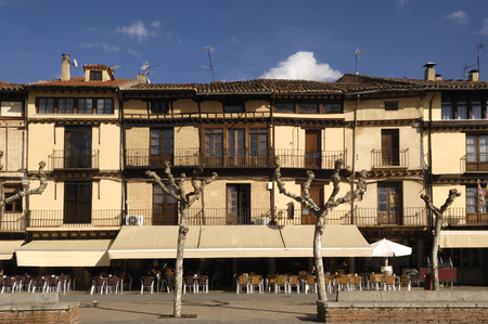 zamora: square, Toro, Zamora Province, Castile and Leon, Spain Stock Photo