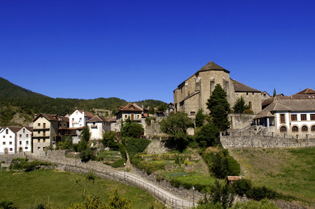 echo: Anso, Valley Echo and Anso, Huesca, Aragon, Spain