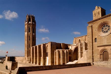 southern european descent: La Seu, Cathedral of LLeida.Catalonia.Spain
