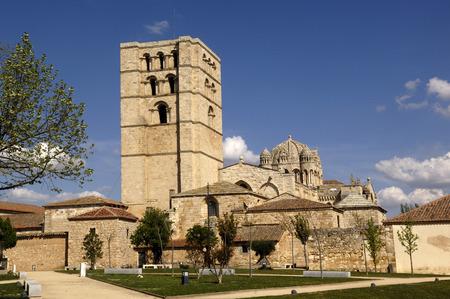 castilla y leon: Cathedral Zamora, Castilla y Leon , Spain, Romanesque