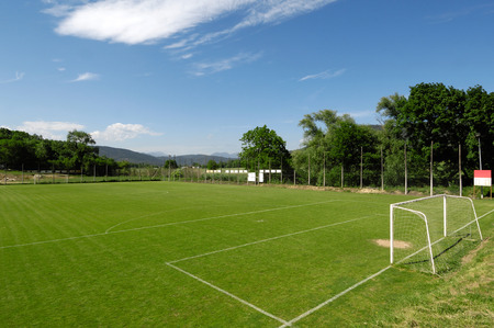 pitch: football pitch,