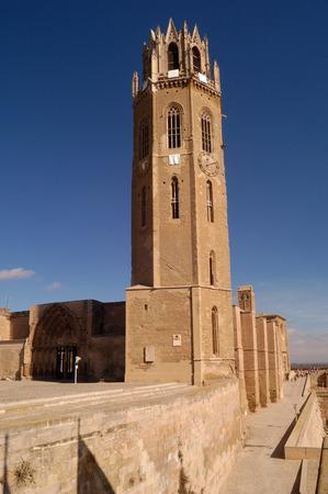 southern european descent: La Seu, Cathedral of LLeida.Catalonia