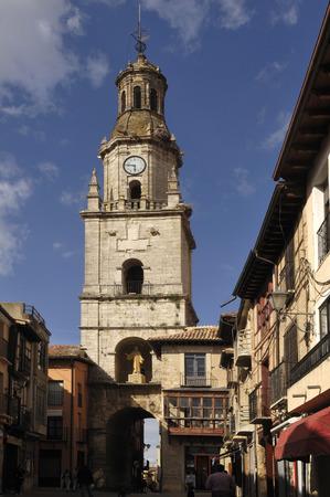 zamora: church and main square in Toro, Zamora province, Castilla y Leon,Spain Stock Photo