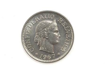 helvetica: 10 Switzerland  helvetica Coin 1967